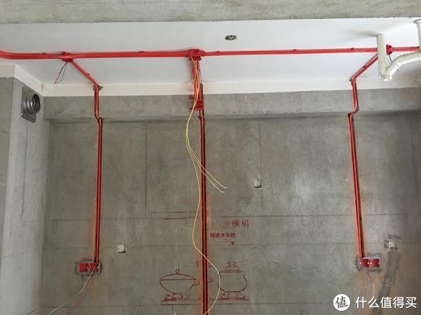 厨房A面布线