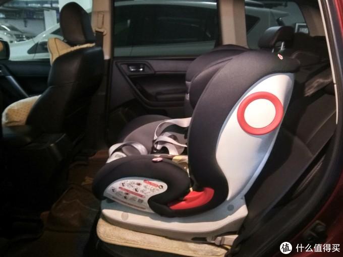 看起来就比原来的安全座椅防护的更加到位得多。