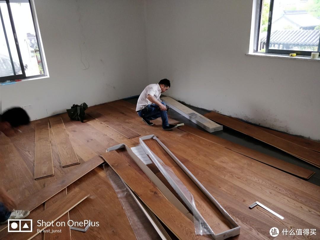 1200元/㎡的进口实木复合地板怎么装?