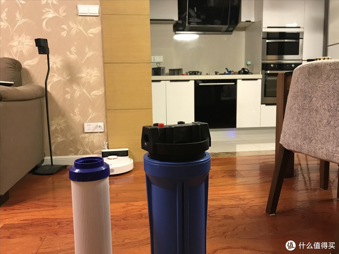我家全屋净水方案 前置、DIY软化水系统、小米橱下式1A纯水机展示