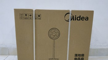 美的 SAB40A 电风扇外观展示(底座|立柱|主体|外罩|电机)