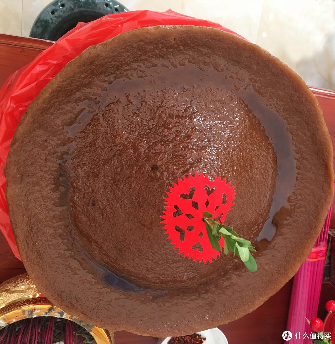 大块的红糖年糕