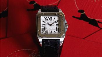 卡地亚手表外观展示(刻度|壳型|表耳|机芯)