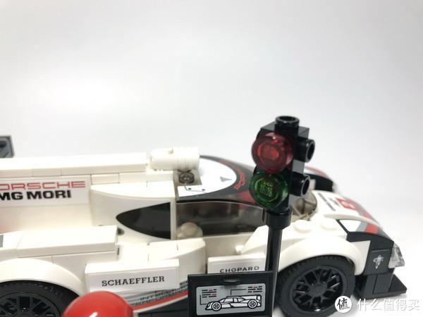 百元名车:LEGO 乐高 赛车系列 75887 保时捷 919 Hybrid