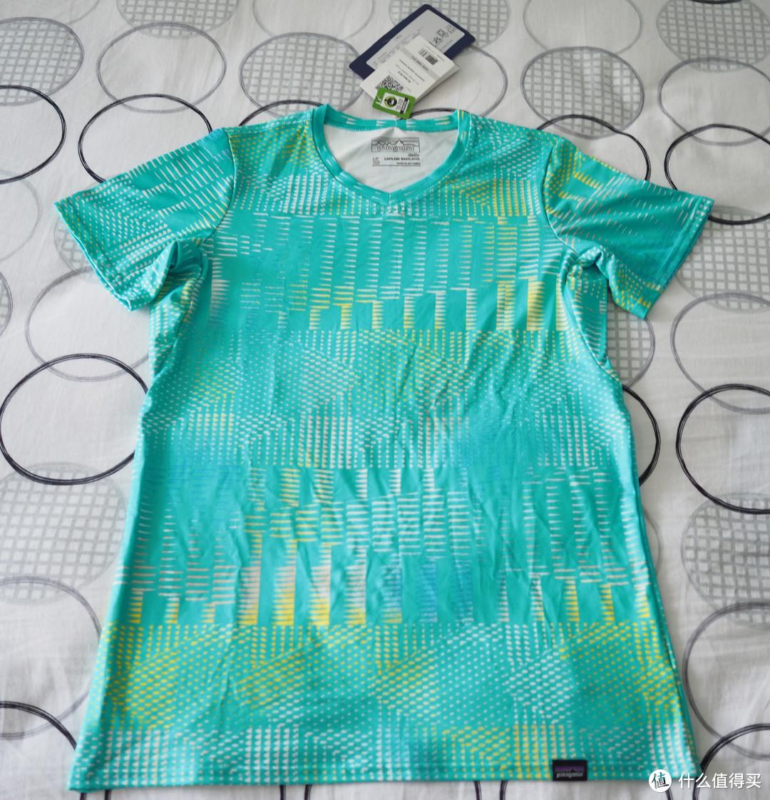 Patagonia 女式防晒运动健身速干T恤开箱