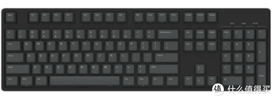 (没有多余设计的黑色键盘成为了大众的选择)