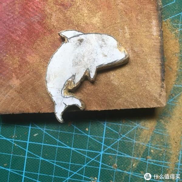 木艺干货—用木头也可以开海豚馆?木制小海豚钥匙扣制作记录