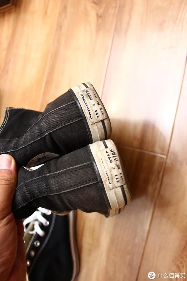 再一次入手经典,匡威高帮帆布鞋晒单