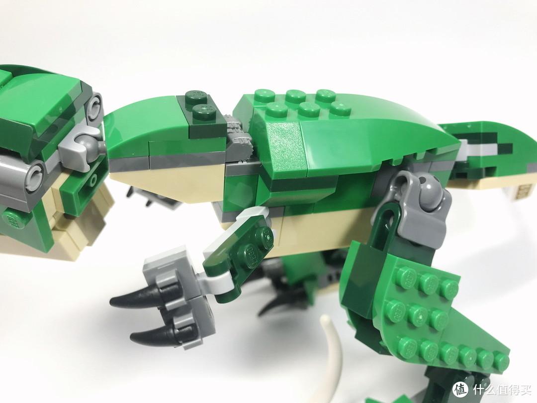 百变恐龙:LEGO 乐高 Creator创意百变系列 31058 凶猛霸王龙
