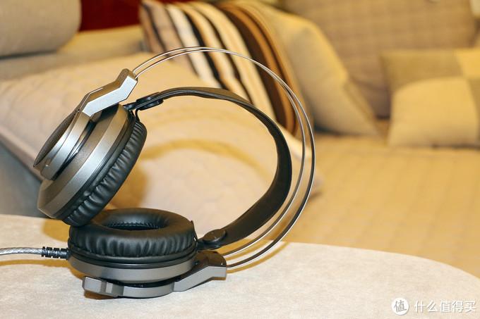 百元头戴耳机带呼吸灯和7.1音效—血手幽灵J450体验
