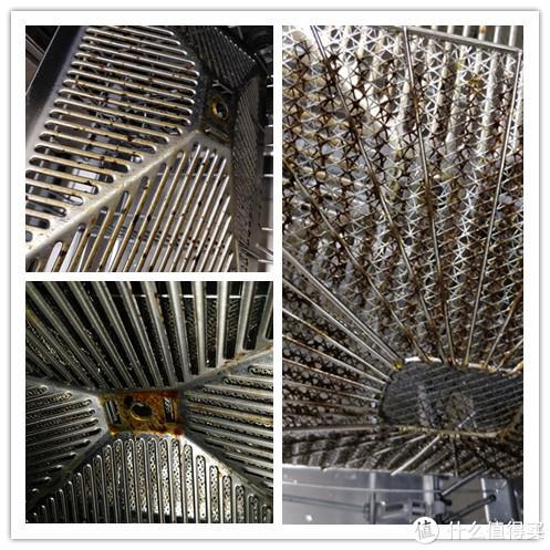 5月时候的油烟机滤网,清洗前