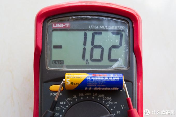 新的碳性电池电压1.62V