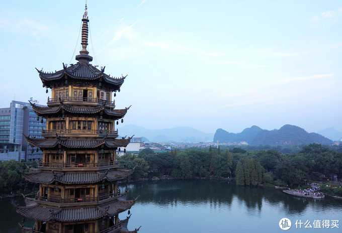 远观还是近玩?桂林地标日月双塔值不值得上?