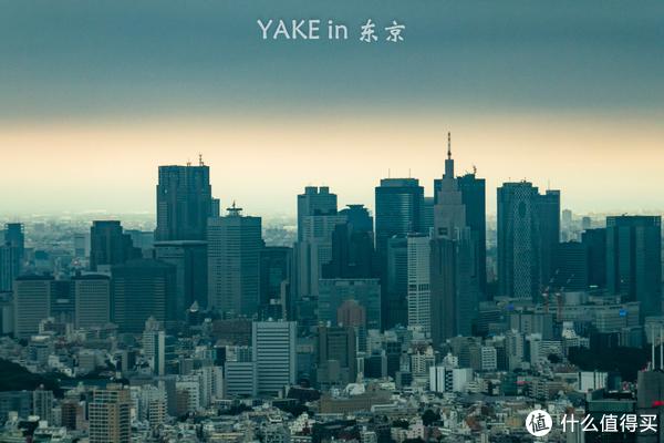六本木塔上看东京