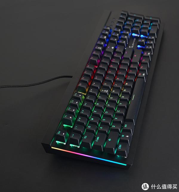 腹灵 S170 RGB 背光机械键盘评测