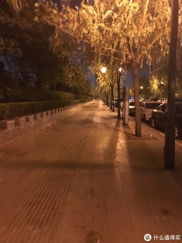 山西临汾古城公园夜游记