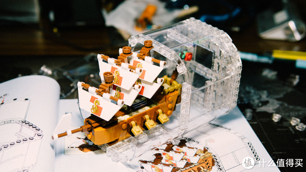 入坑乐高—LEGO 乐高 21313 瓶中船