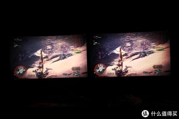 左:AG322QCX右:XG3240C