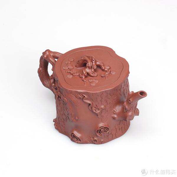 紫砂松桩壶,龙鳞斑驳的肌理,你知道是如何制作的吗?
