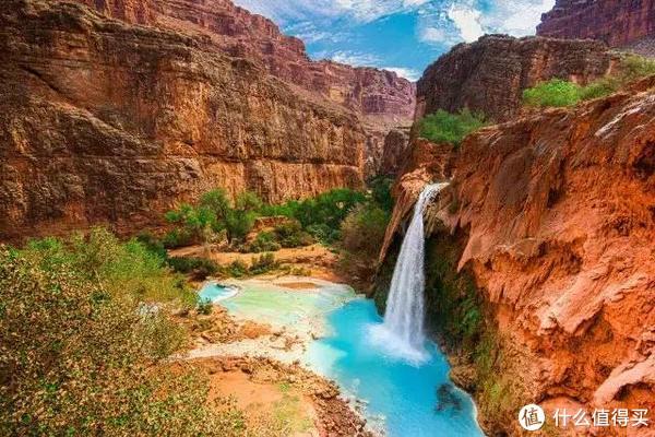哈瓦苏瀑布亚利桑那州