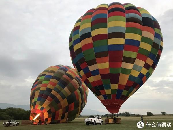 2号气球也在点火,准备起飞