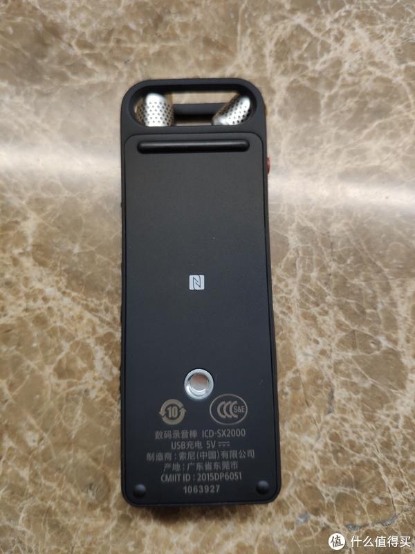 背部的NFC标签,也支持上三脚架