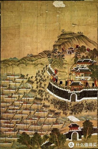 万历朝鲜之役,丰臣政权日本武士集团在釜山登陆