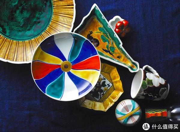 釉彩多色珐琅装饰,九谷烧