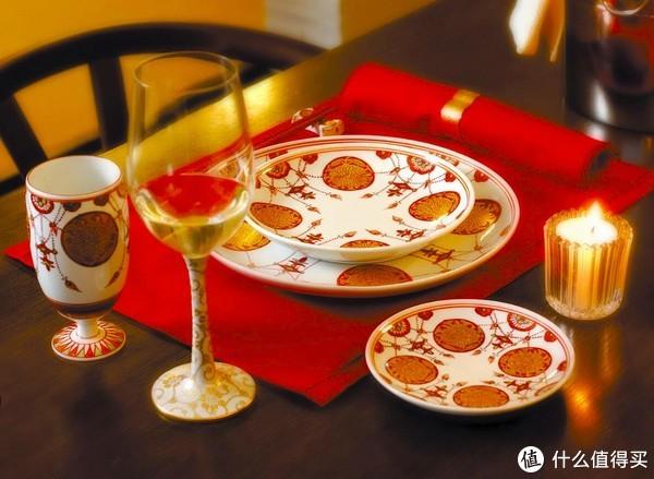赤绘餐具,九谷烧