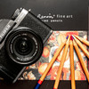我用可爱又好用的复古小相机富士微单相机 XT100 不同镜头拍下了这些