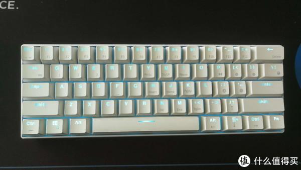 手感与颜值兼具—RK 61 樱桃茶轴 彩虹渐变PBT版 蓝牙无线迷你机械键盘开箱