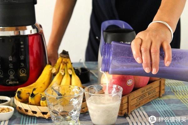便携式果汁机测评:两分钟榨一杯元气满满的香蕉汁