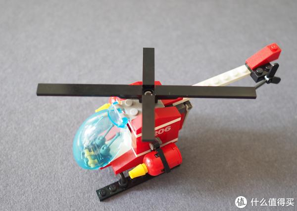 GUDI 古迪积木 消防直升机 试玩体验