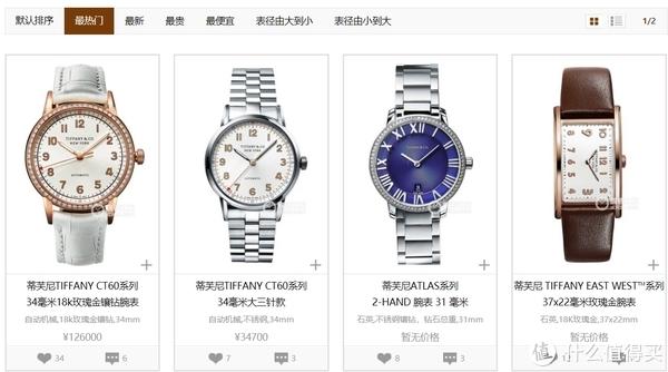 Tiffany:不好看,但品牌地位在女生心中比较高