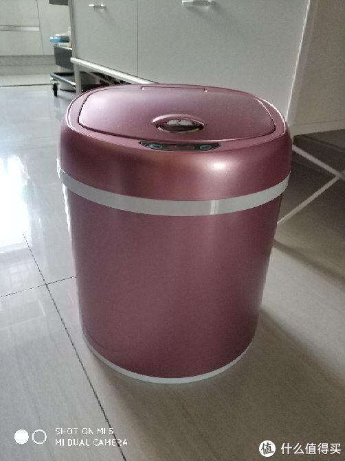麦润垃圾桶选了容量不大的,只有六升。这样基本一上午或者一天就能扔一次垃圾。而且以后也可以当做正常的垃圾桶使用。