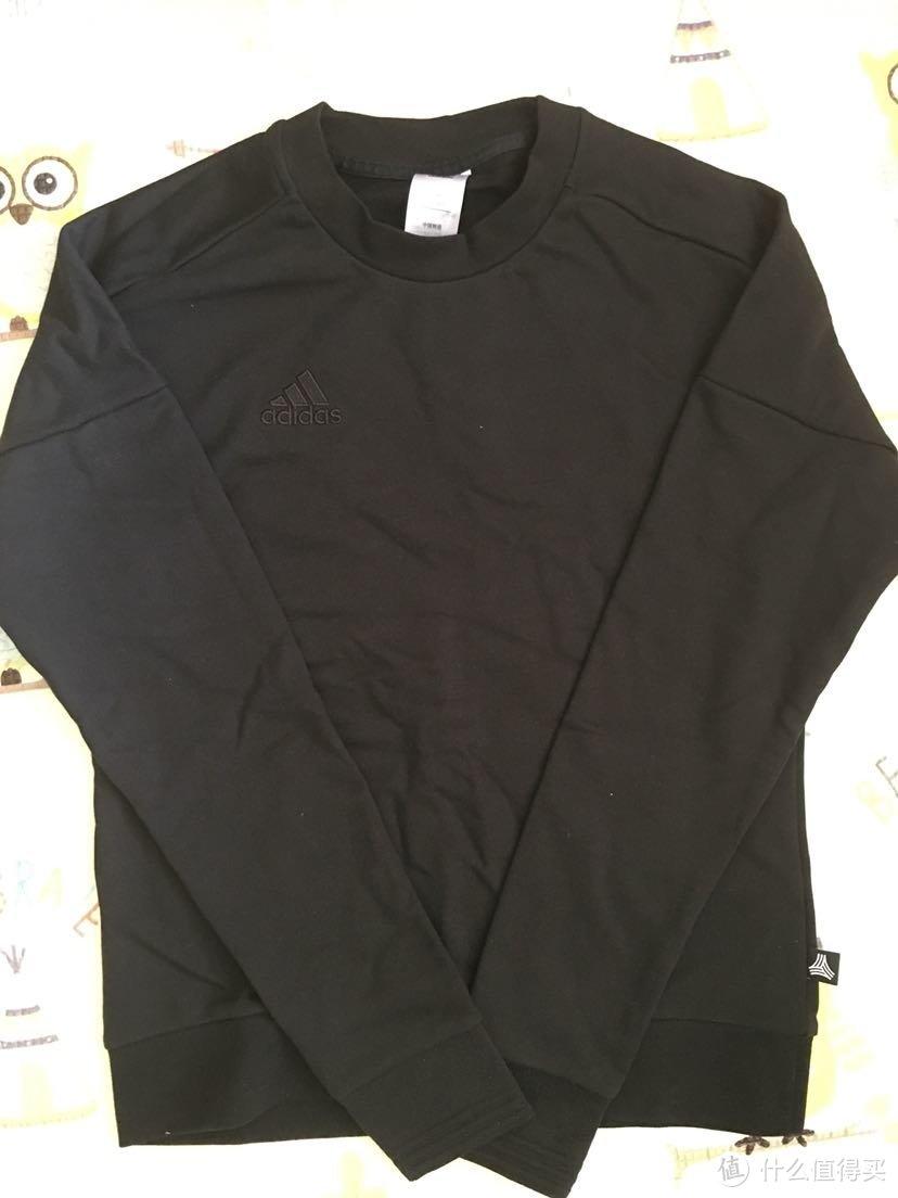 极简百搭-Adidas 阿迪达斯CE4025男子足球套衫