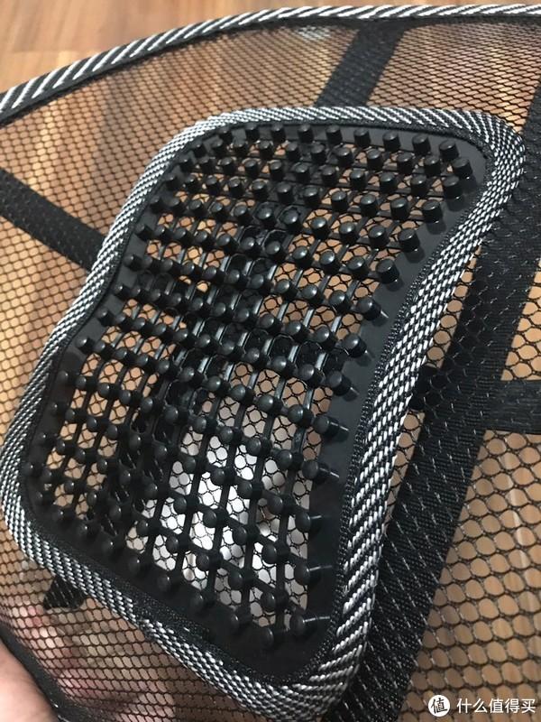 南极人网状座椅腰靠开箱分享