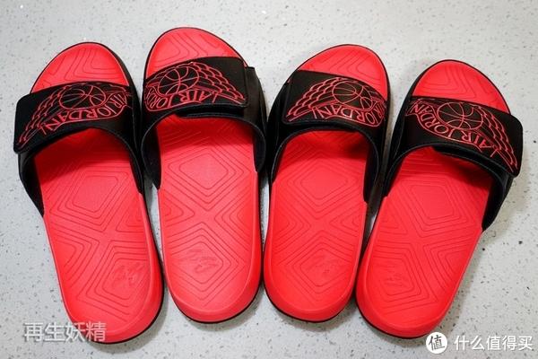 最便宜Jordan鞋?来两双穿穿,感觉还不错—Nike Jordan 男子拖鞋开箱