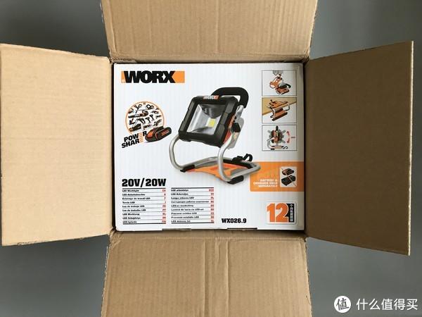 Worx威克士20V 篇三:家族中不可或缺的一员—Worx 威克士 026.9 LED强光灯