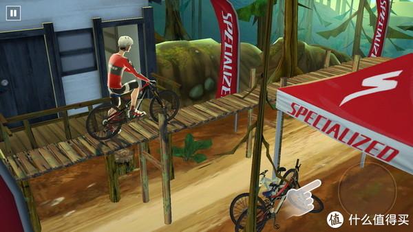 荐游:从山上向下俯冲,3D画面刺激享受!《极限自行车》评测