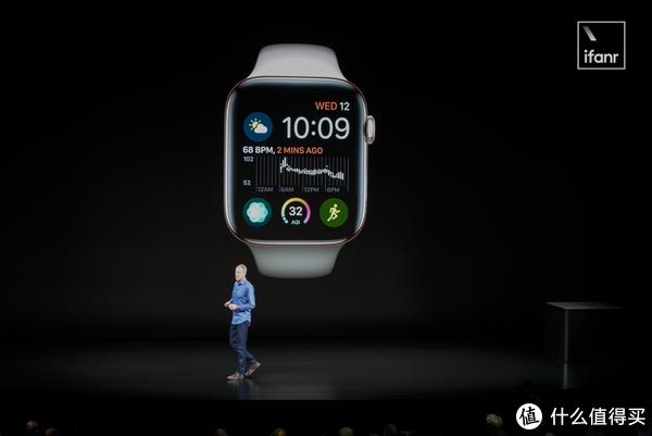「全面屏」的 Apple Watch 4 来了,支持心电监测,售价2736 元起!