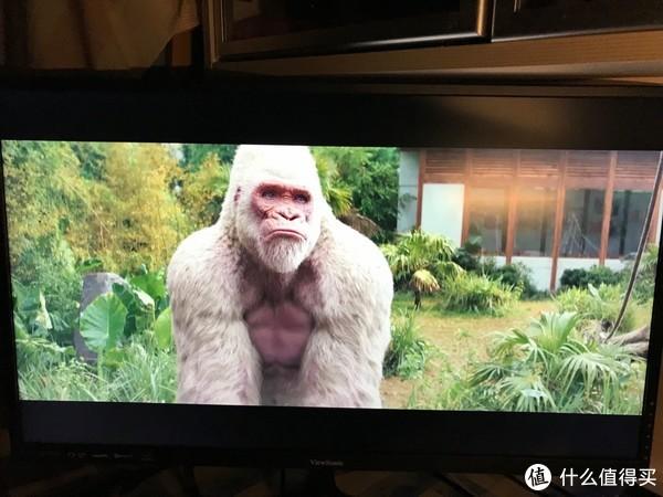 狂暴巨兽HDR 25G。上图为支持HDR(测试的三款产品均支持),猩猩粉红色。