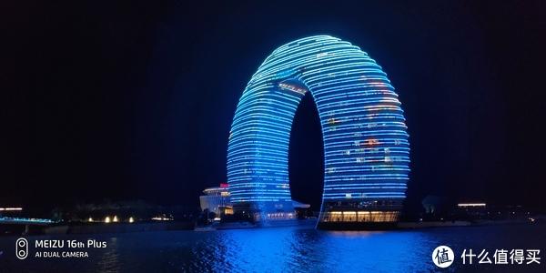手持自动模式拍摄浙江湖州太湖旅游度假区月亮酒店