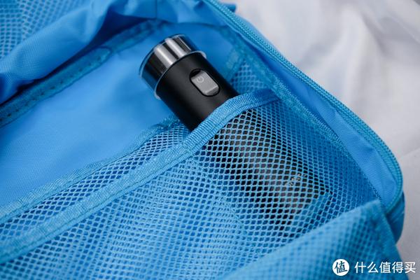 旅行外出携带品,让行李负重减负:SMATE 须眉 ST-R102 涡轮三叶 全身水洗电动剃须刀