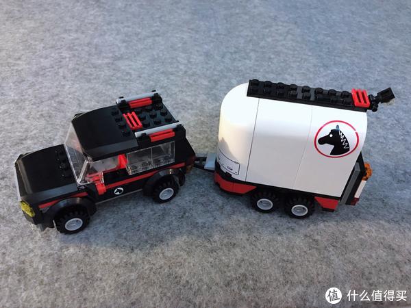 LEGO 7566 农夫和7635 四轮驱动马拖车