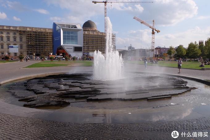 博物馆岛的大喷泉