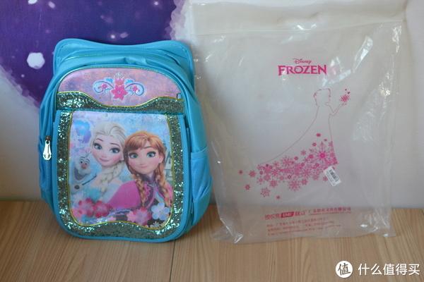 京东拼购小神价——迪士尼(Disney)冰雪奇缘书包FP