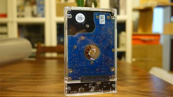 奥睿科 透明硬盘盒使用总结(传输速度 设计 价格)