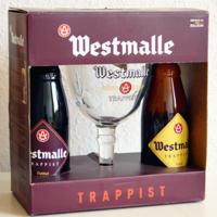 Westmalle 修道院啤酒礼盒外观展示(包装 侧面)