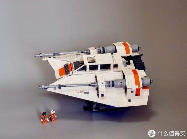 大雪满弓刀—乐高星球大战之UCS雪地战机(LEGO75144)